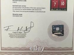 1 x Framed Signed Ronaldo & Rooney Manchester United Double Shirt