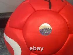 2006 2007 Manchester United Football Signed by 12 Giggs Ole Vidic Rio COA Inc