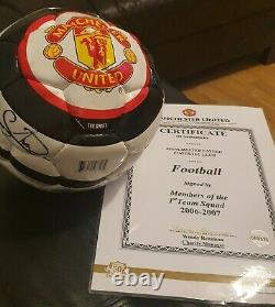 2006 2007 Signed Manchester United Football
