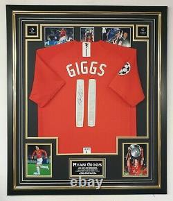 2008 Ryan Giggs of Manchester United Signed Shirt Jersey Aftal Dealer COA