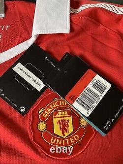 2010/11 Manchester United Signed By 11 Rio Vidic Carrick Park Shirt Man Utd COA