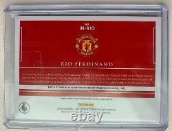 2019-20 PANINI IMPECCABLE PREMIER Rio Ferdinand IN-RIO Manchester United 17/25