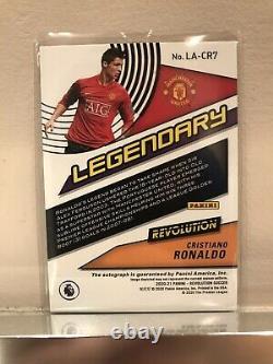 2020-21 Panini Revolution Soccer Legendary Cristiano Ronaldo Signed AUTO