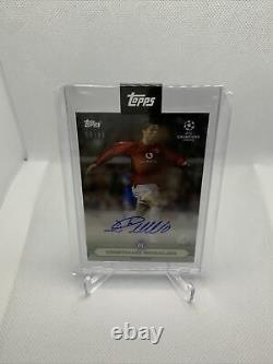 2020 Topps Cristiano Ronaldo Auto Signed Lost Rookie Card Manchester United 8/49