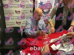 Bobby Charlton Framed Signed Manchester United Football Shirt Proof & Coa