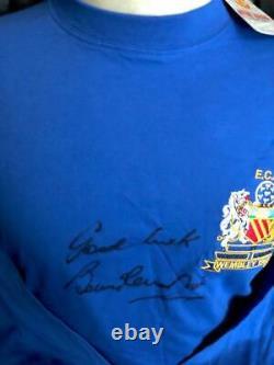 Bobby Charlton Signed 1968 Manchester United European Cup Winner Shirt