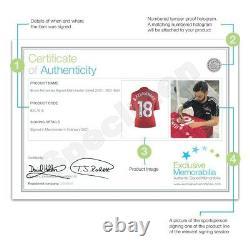 Bruno Fernandes Signed Manchester United Shirt