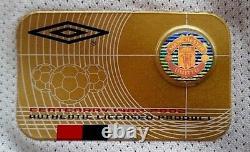 Cantona Official Man Utd Centenary Jersey Signed Rare Coa