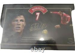 Cristiano Ronaldo Limited Edition Signed Insignia