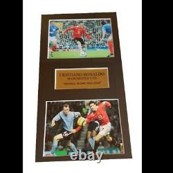 Cristiano Ronaldo Manchester United Signed Picture
