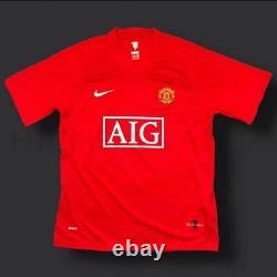 Cristiano Ronaldo Manchester United Signed Shirt 07/09