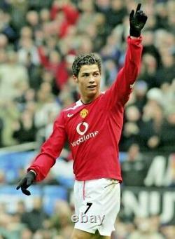 Cristiano Ronaldo Signed Jersey Manchester United 2004-2006 shirt + Photo PROOF
