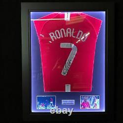 Cristiano Ronaldo Signed Manchester United 2008 Champions League Final Shirt