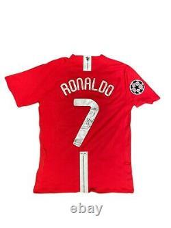 Cristiano Ronaldo Signed Manchester United 2008 Champions League Football Shirt