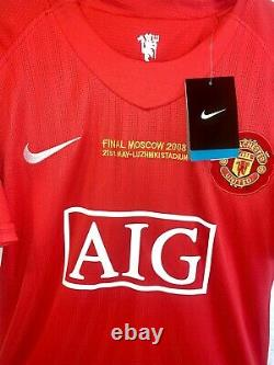 Cristiano Ronaldo Signed Nike Manchester United Jersey Authenticated With COA