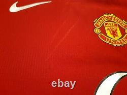 Cristiano Ronaldo Signed Number 7 Manchester United 2004 Man Utd Shirt