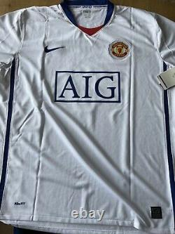 DIMITAR BERBATOV Signed Manchester United Man Utd 2008/09 Shirt Bnwt Size XL