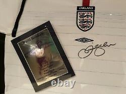 David Beckham Signed Autographed England Shirt Official RARE Manchester United