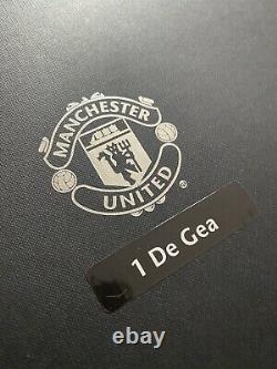 David De Gea Signed Manchester United Goalkeeper Shirt RARE CLUB COA Man Utd