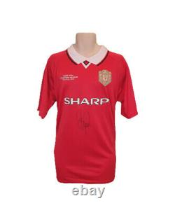 Denis Irwin Signed Manchester United 1999 Champions League Final Shirt