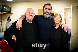 ERIC CANTONA SIGNED Manchester United photograph in picture frame with COA £125