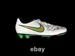 Eric Cantona Manchester United Framed Signed Nike Football Boot See Proof Coa
