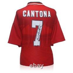Eric Cantona Signed 1996 Manchester United Shirt