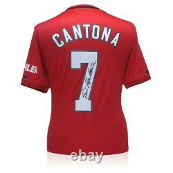 Eric Cantona Signed 2019-20 Manchester United 2019-20 Shirt