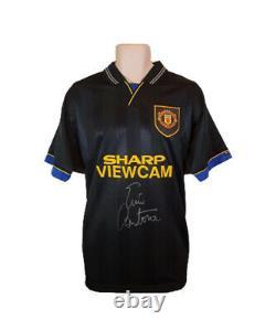 Eric Cantona Signed Manchester United 1994 Iconic Kung-Fu Kick Shirt