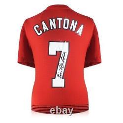 Eric Cantona Signed Manchester United Shirt