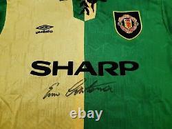 Eric Cantona Signed Newton Heath Manchester United Man Utd Retro Shirt