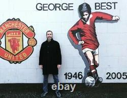 Eric Cantona The King 3d Manchester United Signed Display Very Ltd Item £349