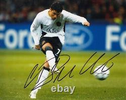 Football Cristiano Ronaldo Signed 8x10 Photo -Manchester United COA