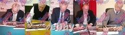 Framed Busby Babes Signed Manchester United 58 Photograph Charlton Gregg Foulkes