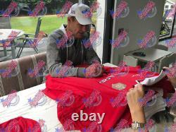 Framed Signed Sheringham & Solskjaer Manchester United 1999 Shirt Coa & Proof