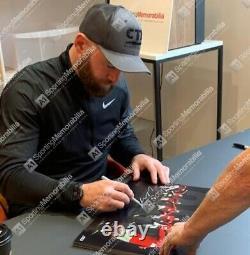 Framed Wayne Rooney Signed Manchester United Photo 253 Top Goalscorer, Limited