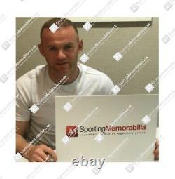 Framed Wayne Rooney Signed Manchester United Shirt Montage Framing