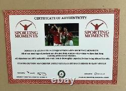 Gary Neville Manchester United Signed Shirt With COA