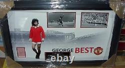 George Best Manchester United Legend Signed Aftal