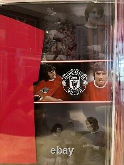 George Best Signed Manchester United 1968 Shirt