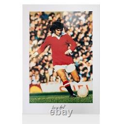 George Best Signed Manchester United Photo Bestie Autograph