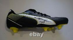 Jaap Stam Signed Autograph Football Boot Manchester United AFTAL Memorabilia COA