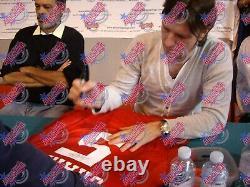 Lee Sharpe Signed 1996 Manchester United Football Shirt See Proof & Coa