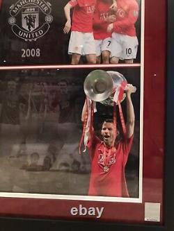 Manchester United 2008 Signed Shirt Jersey Cristiano Ronaldo Official