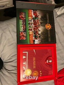 Manchester United 3 Boxsets Signed 1968 2008 19 Shirt Commemorative Box