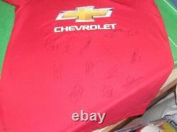 Manchester United FC 2019/20 Season Squad Signed Shirt 13 Autographs