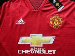 Manchester United Jesse Lingard Hand Signed 2018/19 Shirt Jersey Photo Proof