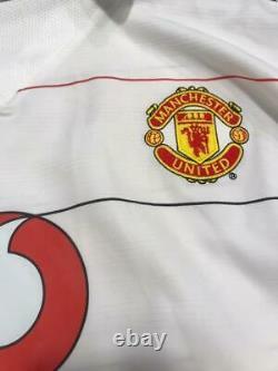 Manchester United Nike 2004 Away #7 Cristiano Ronaldo Matchworn Champions League