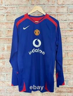 Manchester United Nike 2005 Away #7 Cristiano Ronaldo Matchworn Champions League