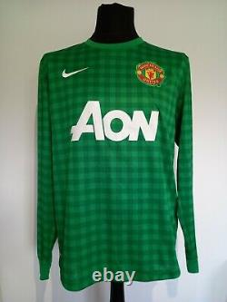 Manchester United Number 1 Goalkeeper Shirt Signed Peter Schmeichel Guarantee